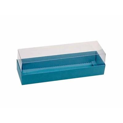 Caixa 5 macarons - Azul bahamas