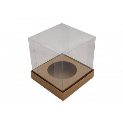 Caixa Mini Panetone 100g - Kraft
