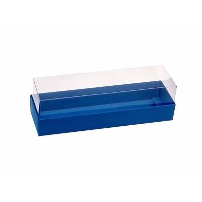 Caixa 5 macarons - Azul royal