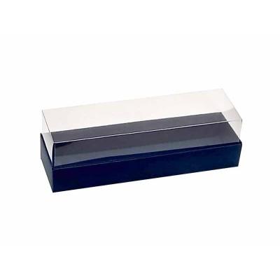Caixa 5 macarons - Azul Escuro
