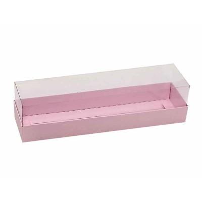 Caixa 6 macarons - Rosa Bebê