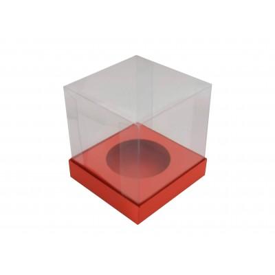 Caixa Mini Panetone 100g - Vermelho