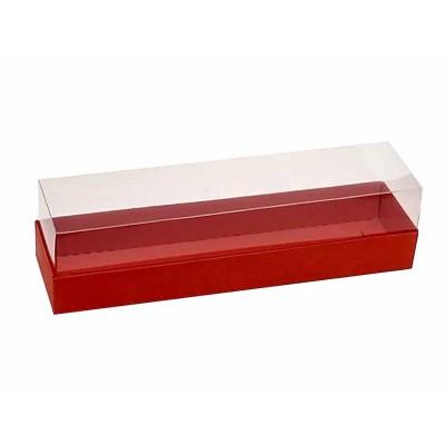 Caixa 6 macarons - Vermelha